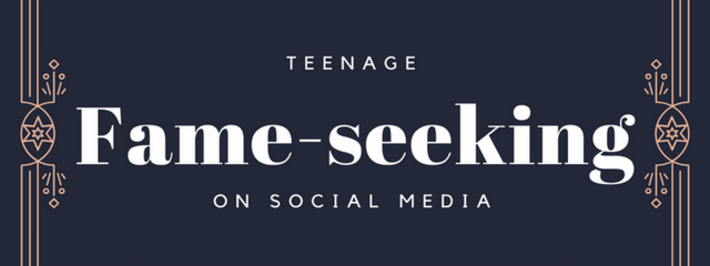 Teenage Fame-seeking on Social Media | As parents of teenagers, social media is always on our minds. It's a communication and social outlet that we didn't have growing up and we must consider it in our parenting strategies.