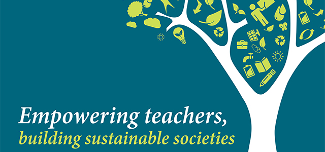 5 Ways to Celebrate World Teachers' Day | Honor your child's teacher with one (or more) of these 5 easy ways to say thank you on World Teachers' Day. | Illustration of a tree of knowledge courtesy of UNESCO.
