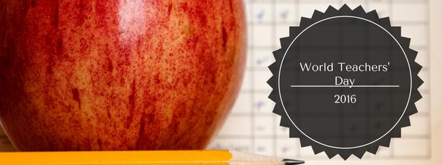 "Say ""Thank You"" on World Teachers' Day"