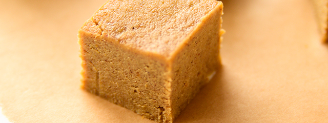 5 healthy and creative Halloween party foods   Pumpkin fudge recipe via Blissful Basil.
