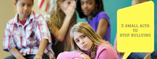 3 Small Acts of Kindness Your Child Can Do to Prevent Bullying