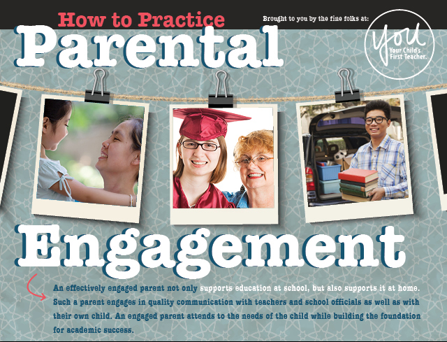 How to Practice Parental Engagement Infographic
