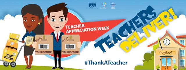 Celebrate Your Child's Teacher During Teacher Appreciation Week