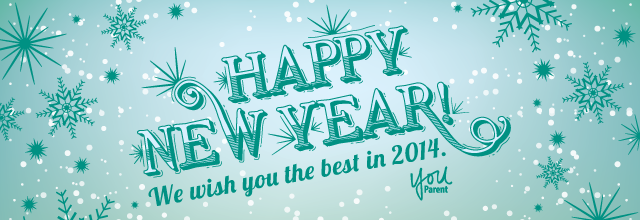 Happy New Year! We wish you the best in 2014.